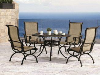 градински столовеи маса